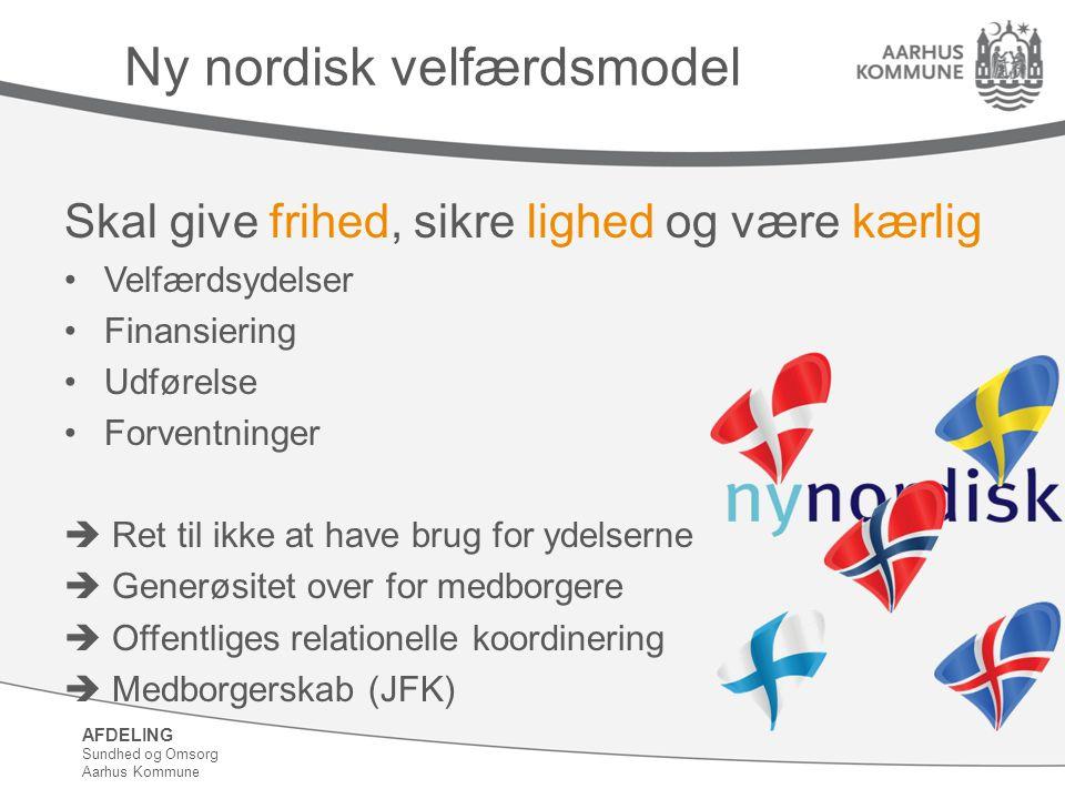 Ny nordisk velfærdsmodel
