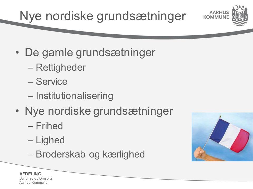 Nye nordiske grundsætninger