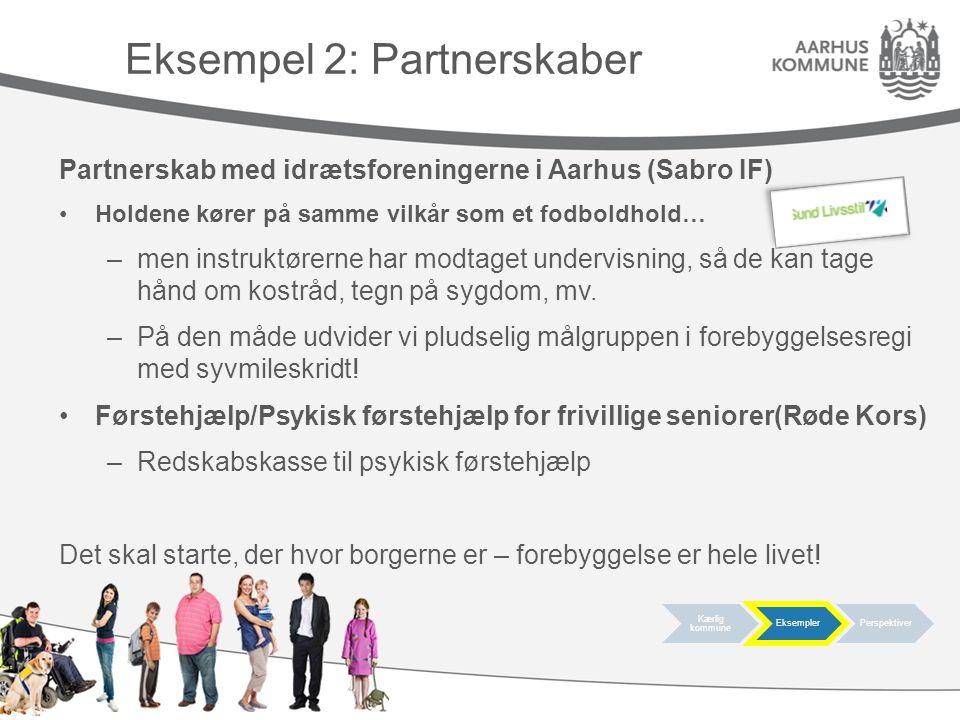 Eksempel 2: Partnerskaber