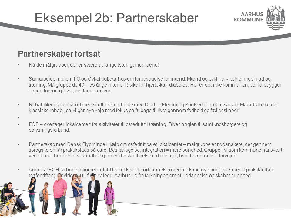 Eksempel 2b: Partnerskaber