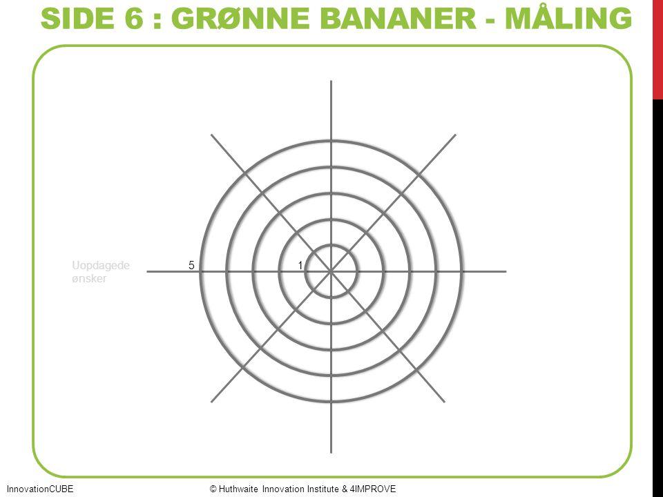 SIDE 6 : grønne bananer - måling