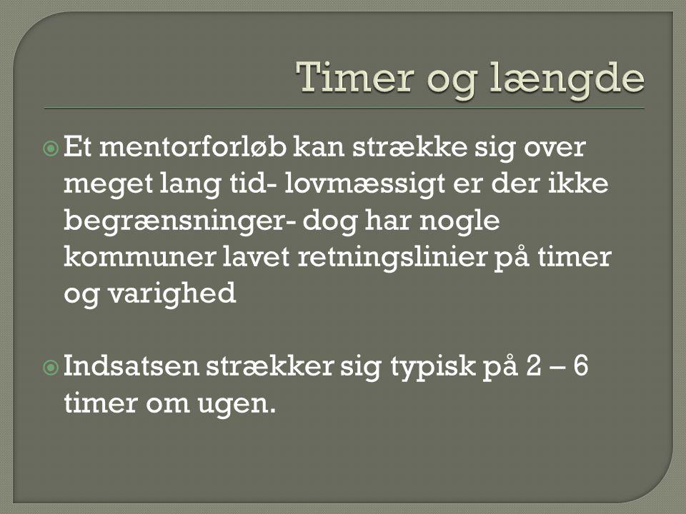Timer og længde