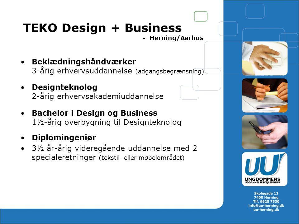 TEKO Design + Business - Herning/Aarhus