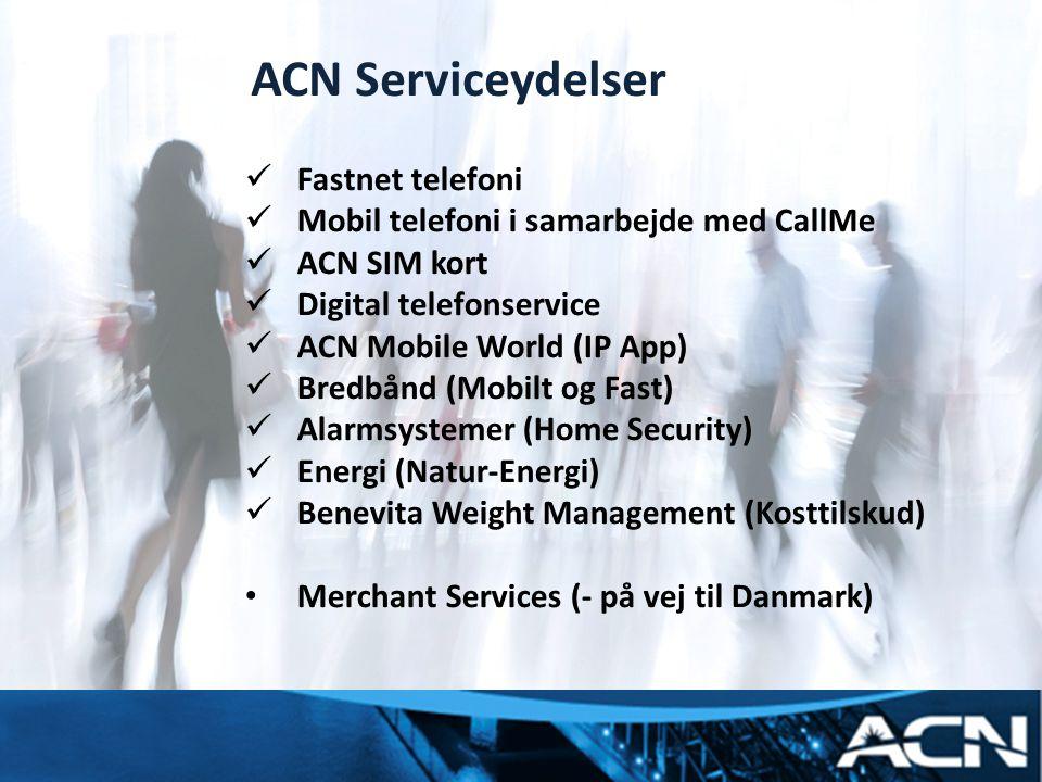 ACN Serviceydelser myacn.com myacn.eu Fastnet telefoni