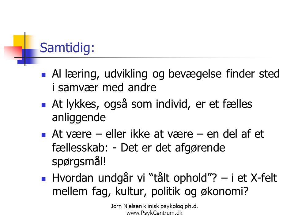 Jørn Nielsen klinisk psykolog ph.d. www.PsykCentrum.dk