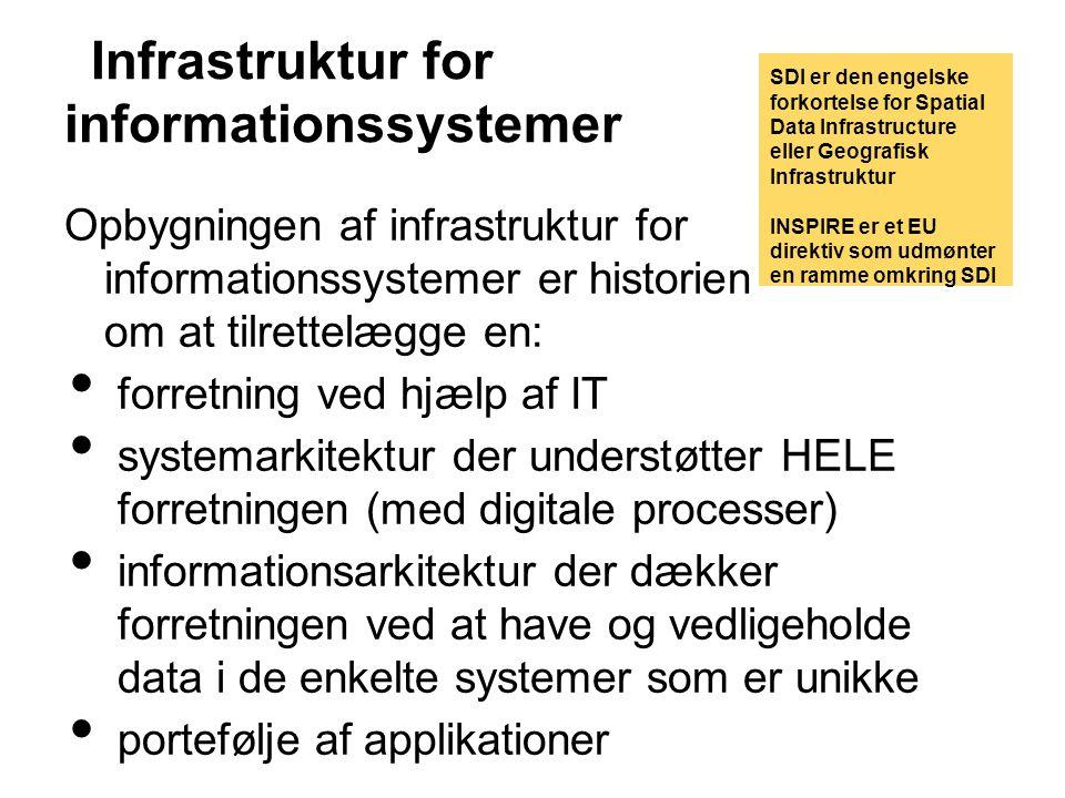 Infrastruktur for informationssystemer