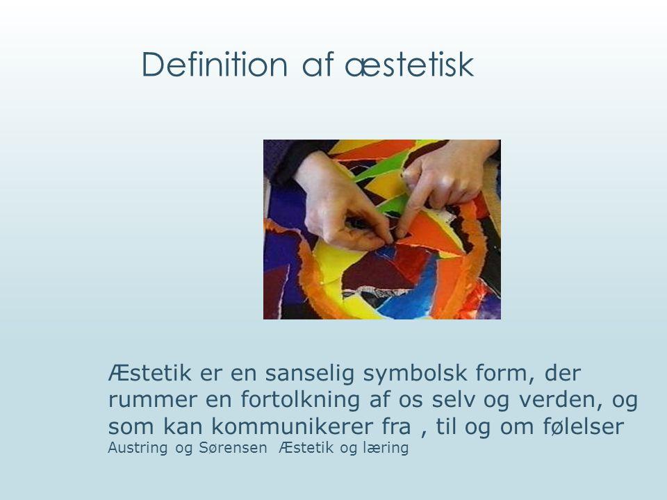 Definition af æstetisk