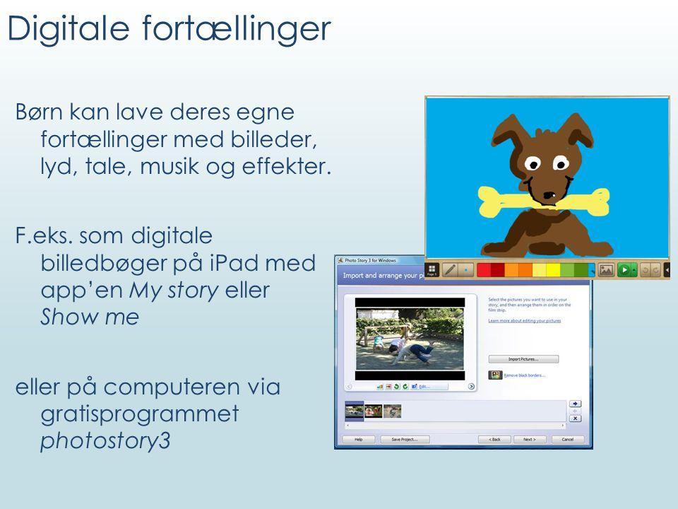 Digitale fortællinger