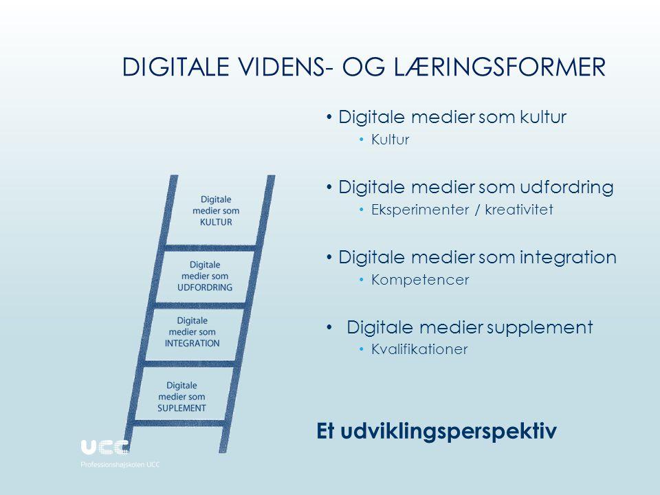 Digitale videns- og læringsformer