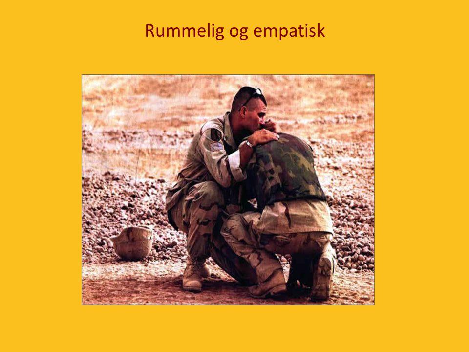 Rummelig og empatisk