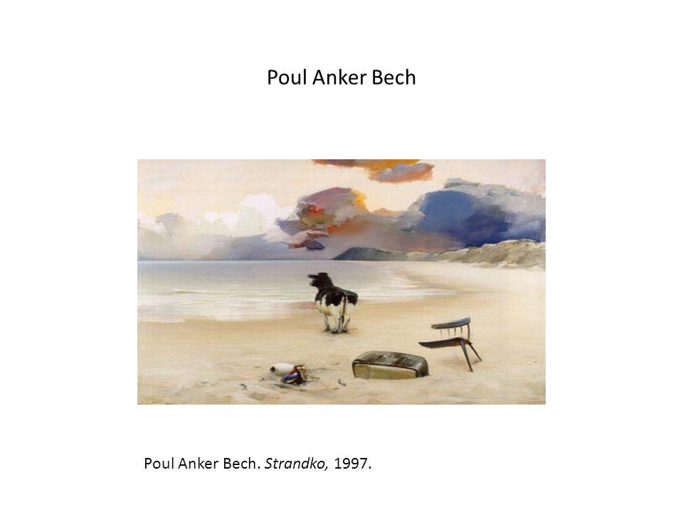 Poul Anker Bech Poul Anker Bech. Strandko, 1997.