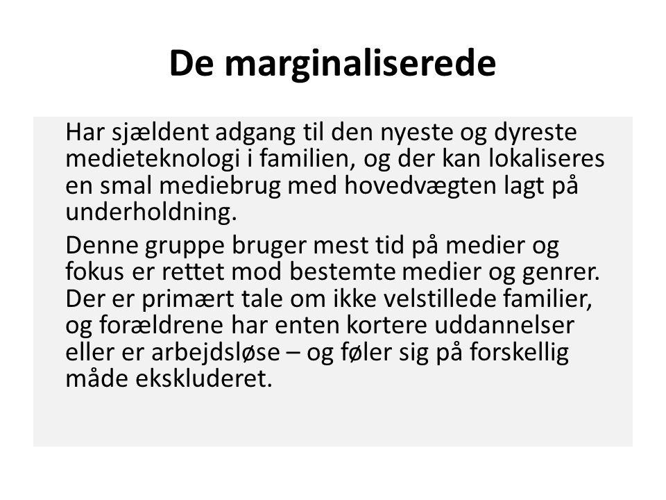 De marginaliserede