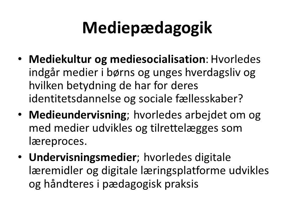 Mediepædagogik