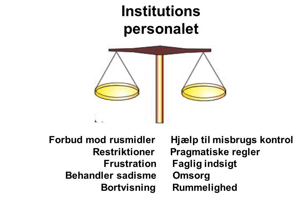 Institutions personalet