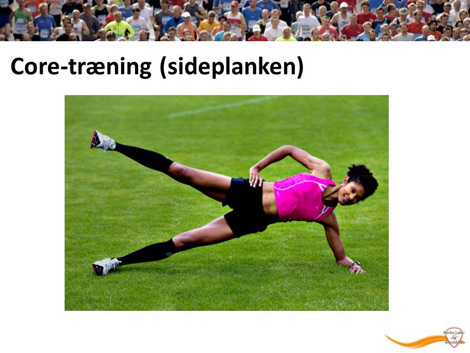 Core-træning (sideplanken)