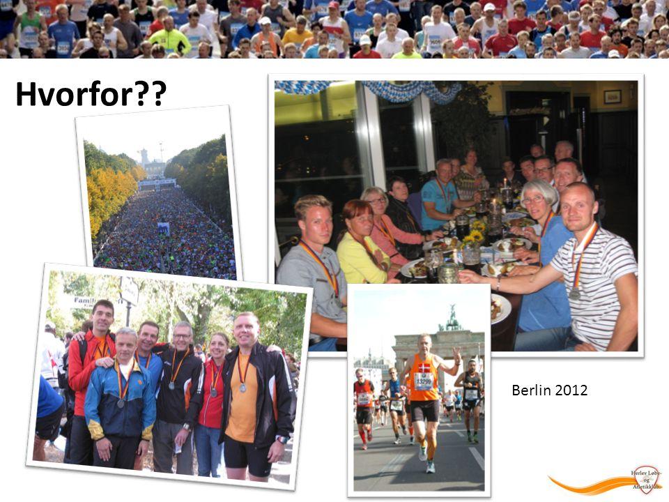 Hvorfor Berlin 2012