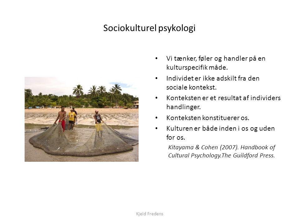 Sociokulturel psykologi