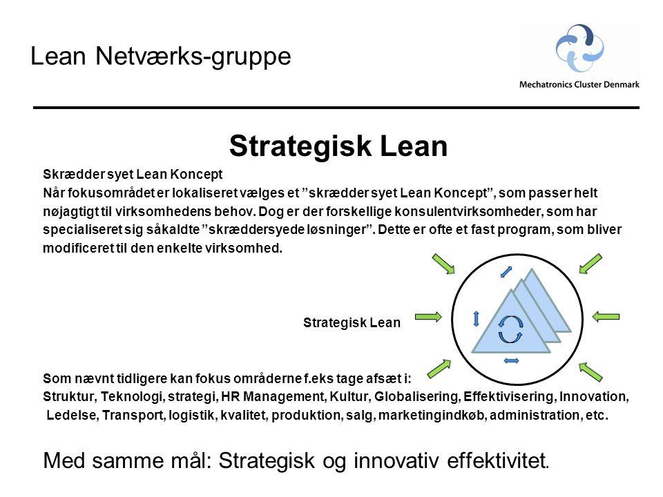 Strategisk Lean Lean Netværks-gruppe