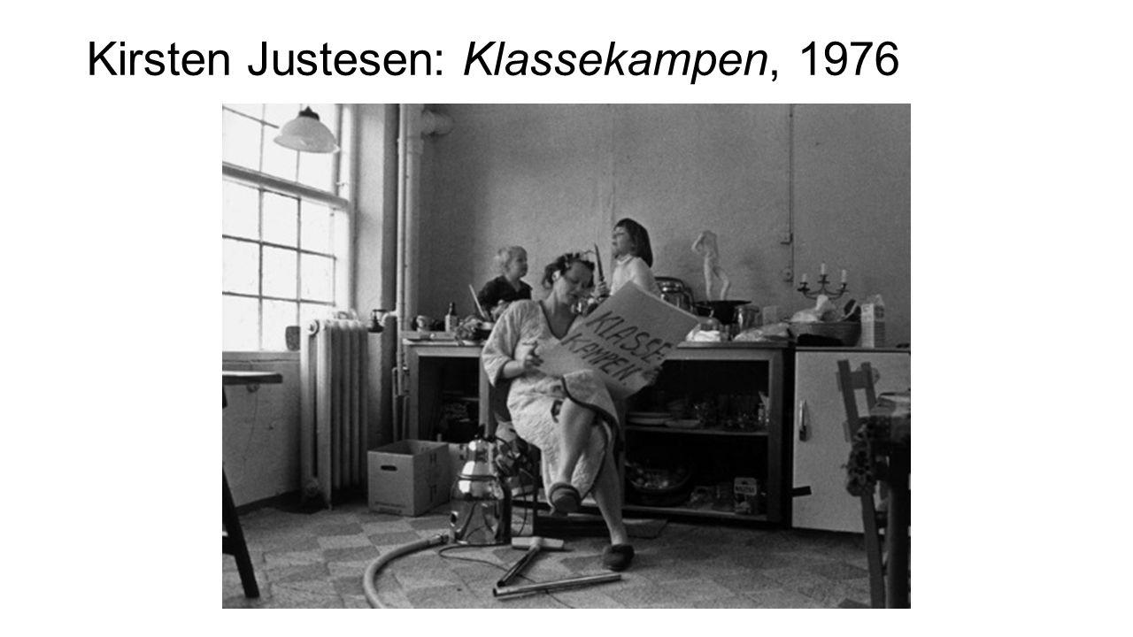 Kirsten Justesen: Klassekampen, 1976