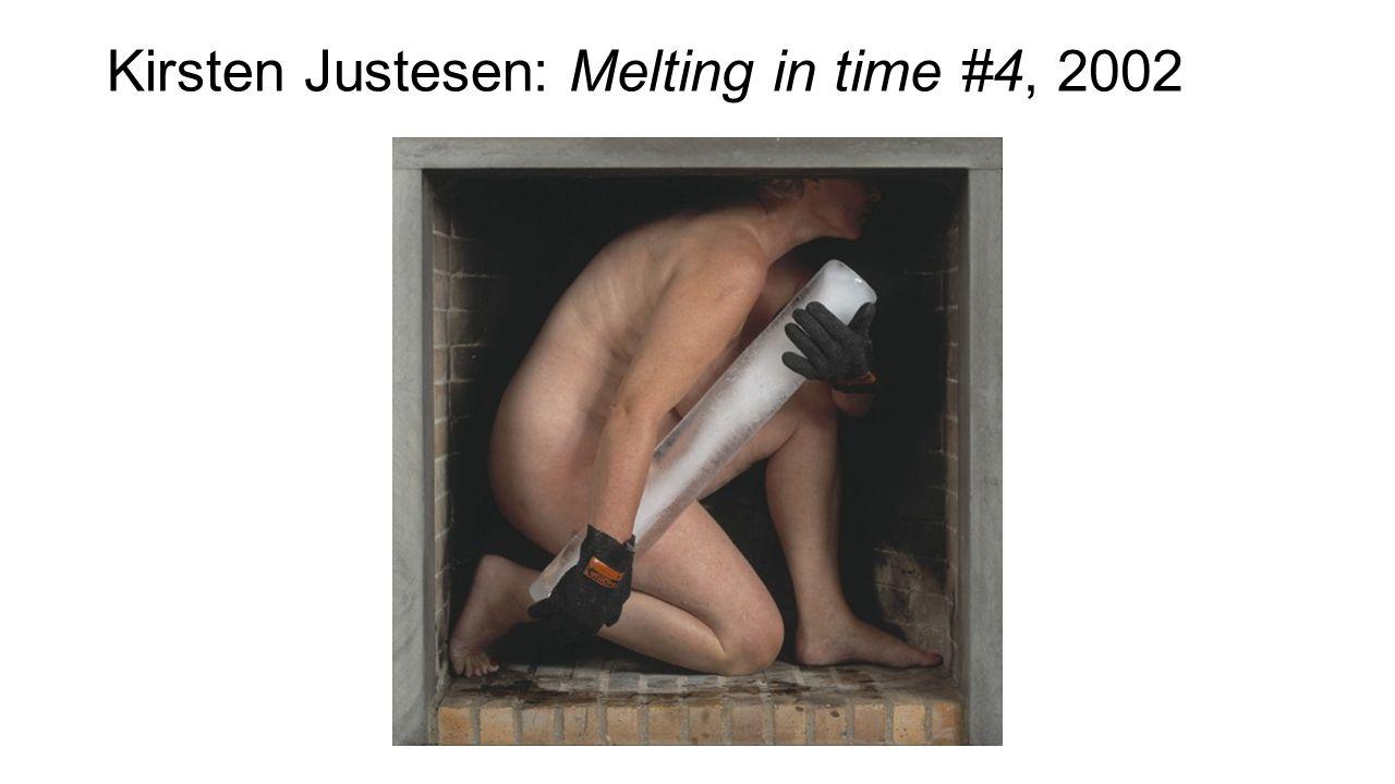 Kirsten Justesen: Melting in time #4, 2002