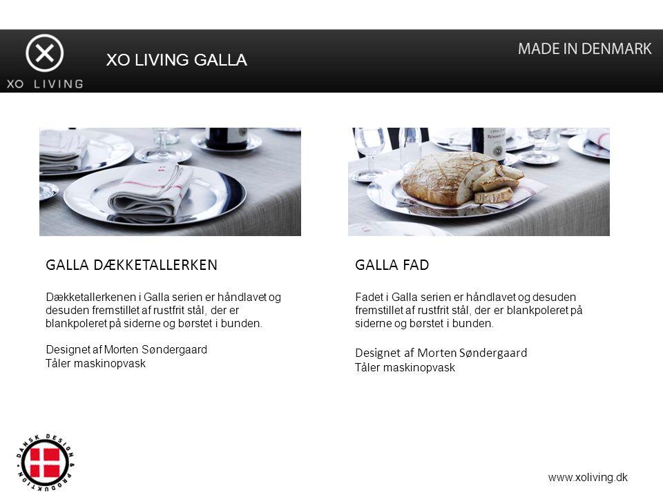 XO LIVING GALLA GALLA DÆKKETALLERKEN GALLA FAD