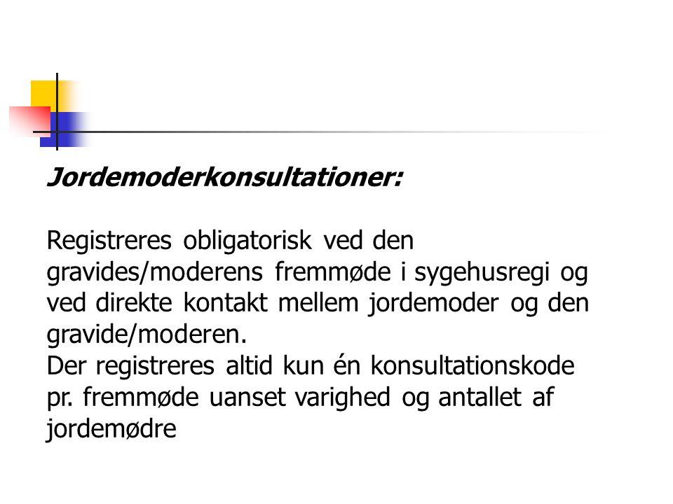 Jordemoderkonsultationer: