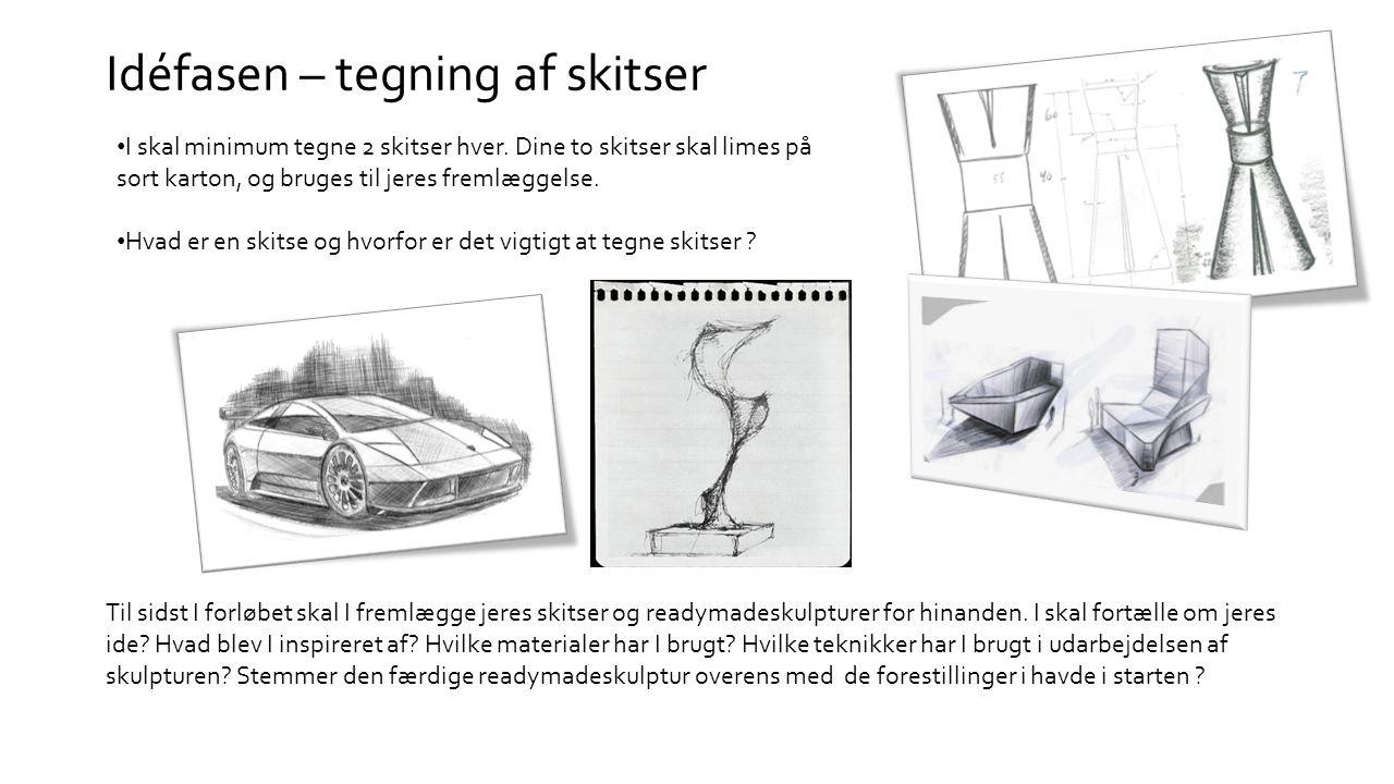 idéer til tegning