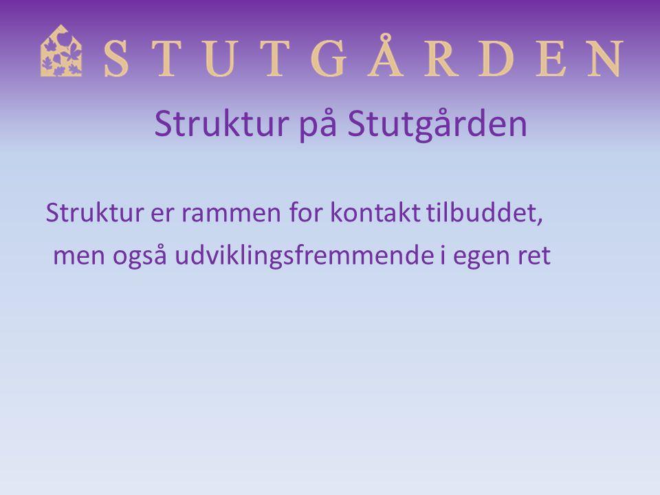 Struktur på Stutgården