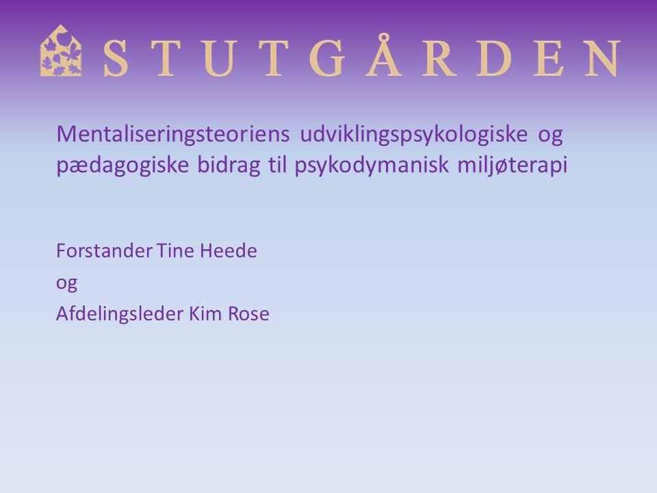 Forstander Tine Heede og Afdelingsleder Kim Rose