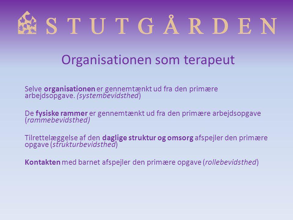 Organisationen som terapeut