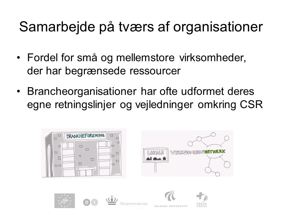 Samarbejde på tværs af organisationer