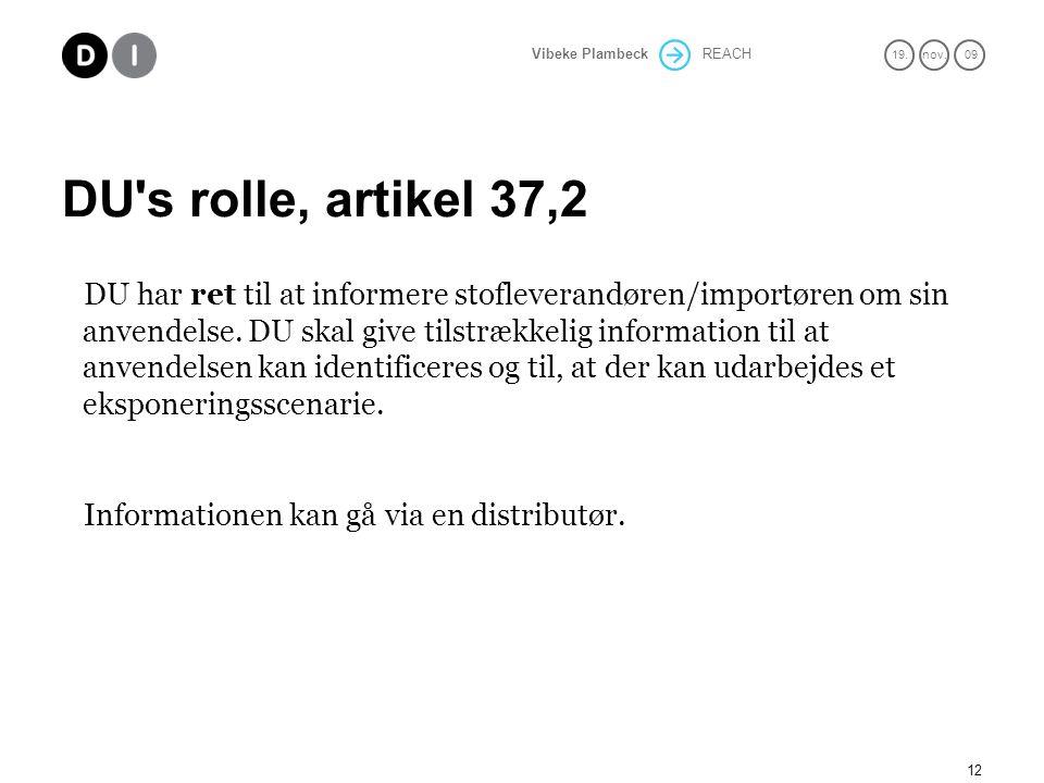 DU s rolle, artikel 37,2