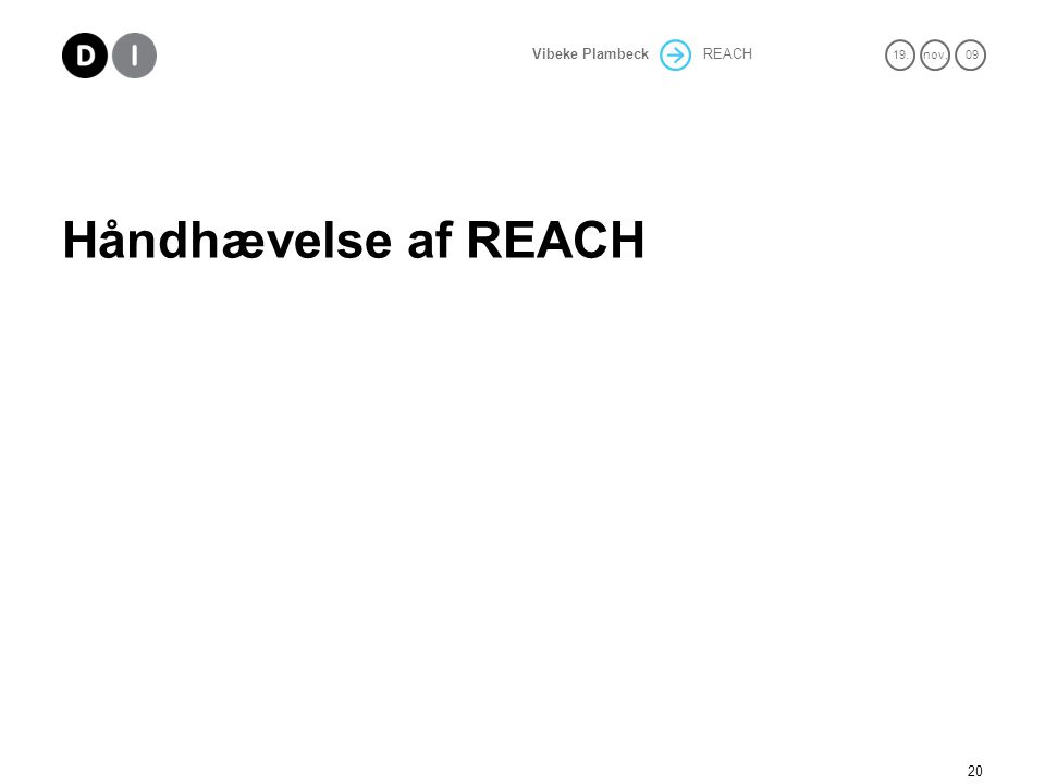 Håndhævelse af REACH