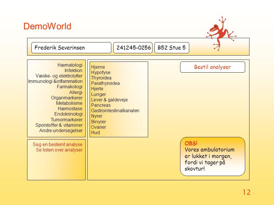 DemoWorld Frederik Severinsen 241245-0256 B52 Stue 5 Bestil analyser