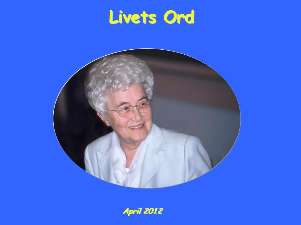 Livets Ord April 2012