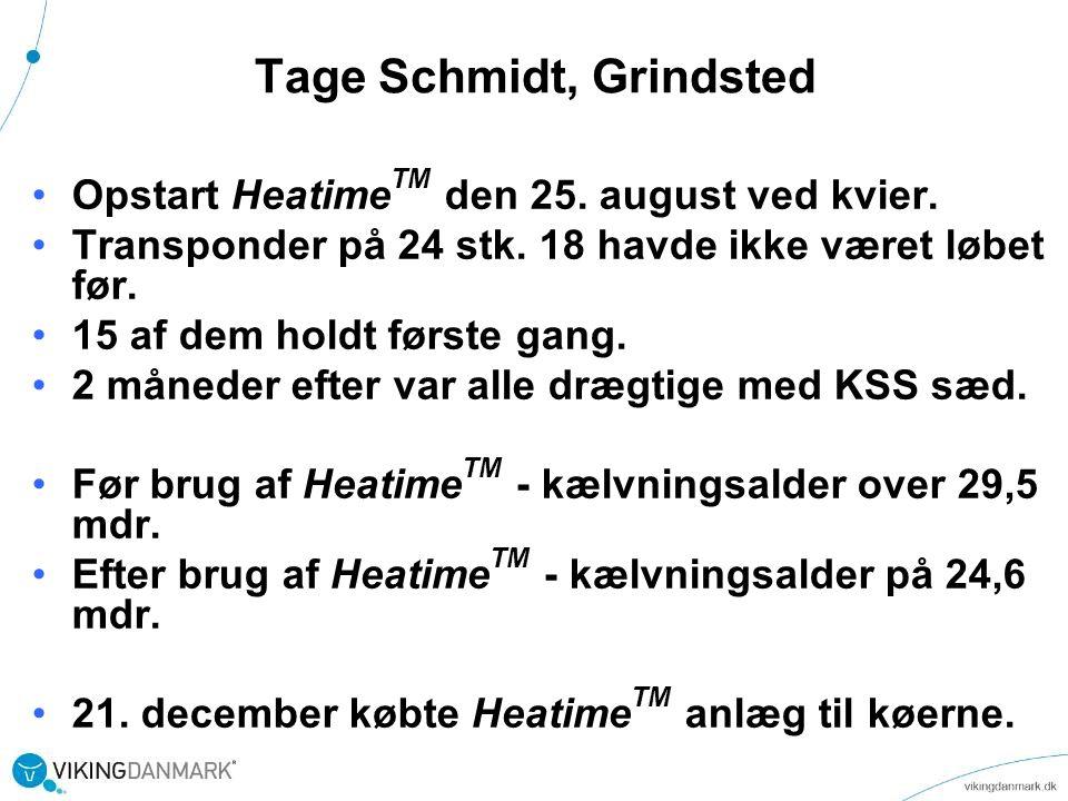 Tage Schmidt, Grindsted