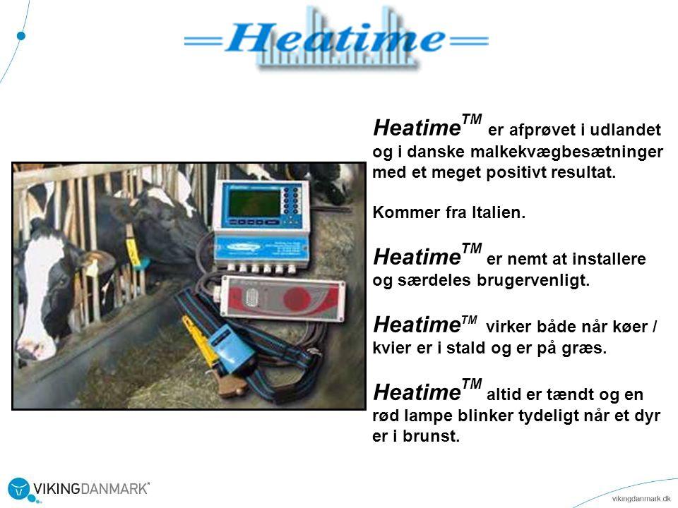 HeatimeTM er nemt at installere og særdeles brugervenligt.