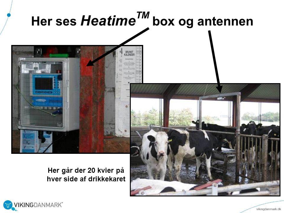 Her ses HeatimeTM box og antennen