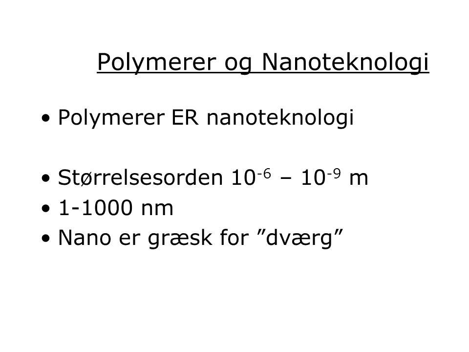 Polymerer og Nanoteknologi