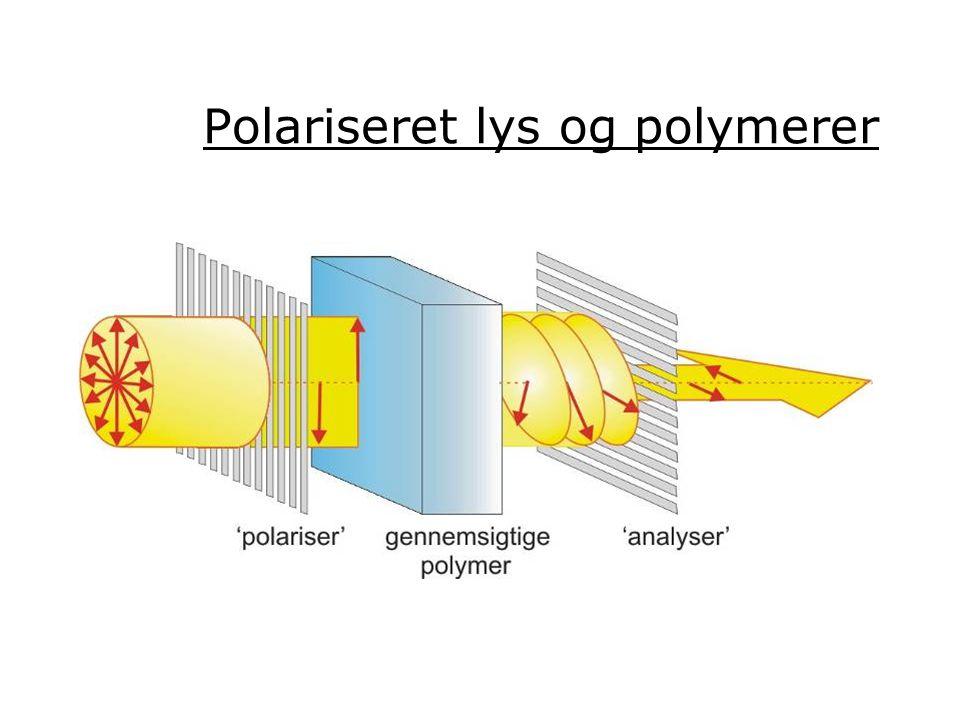 Polariseret lys og polymerer