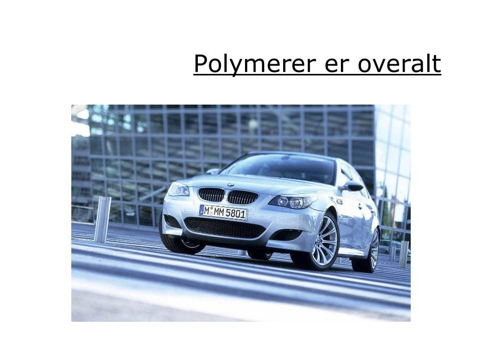 Polymerer er overalt