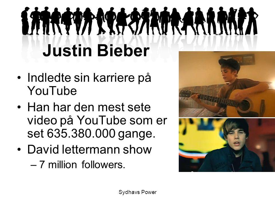 Justin Bieber Indledte sin karriere på YouTube