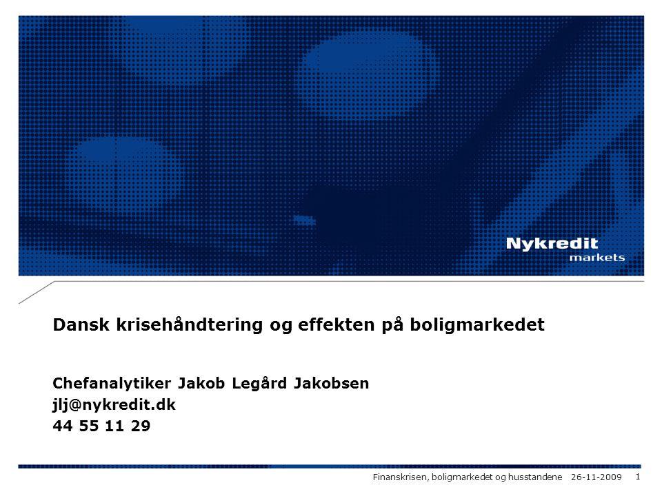 Dansk krisehåndtering og effekten på boligmarkedet