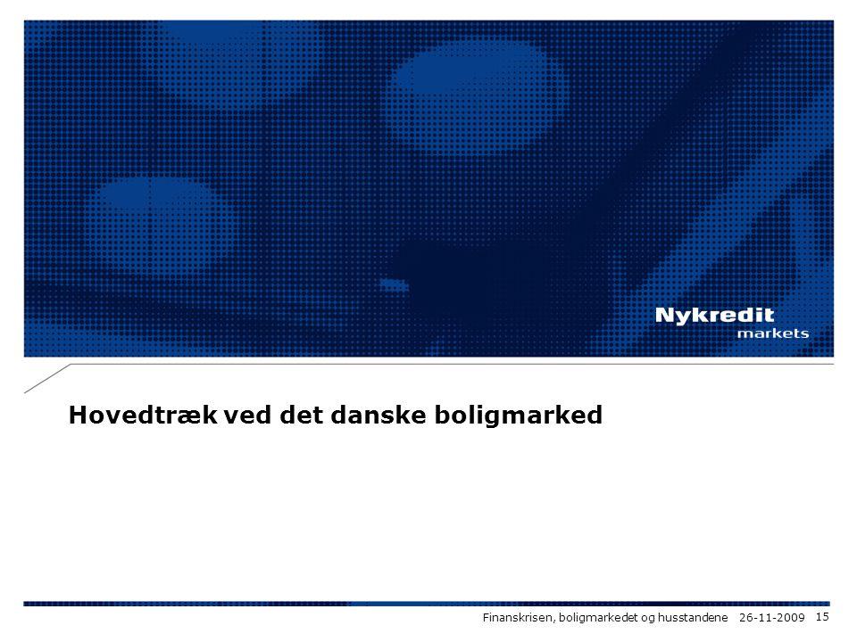 Hovedtræk ved det danske boligmarked