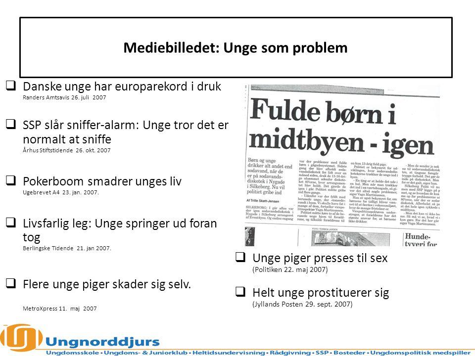 Mediebilledet: Unge som problem