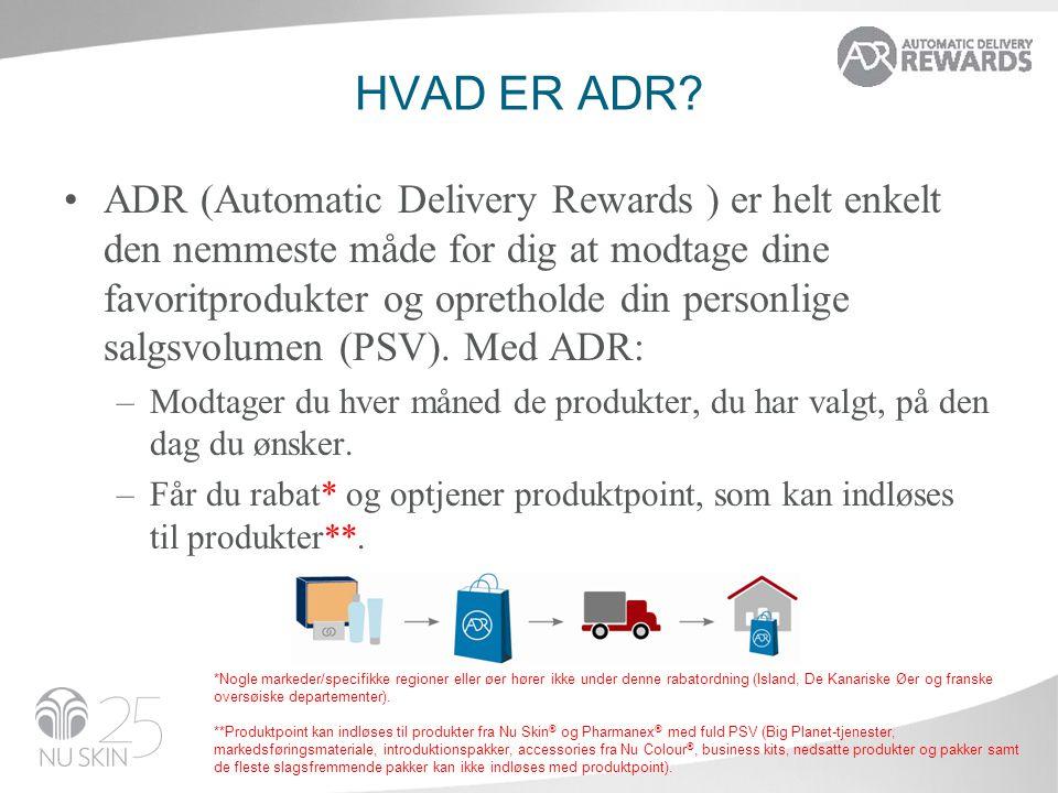 Hvad er ADR