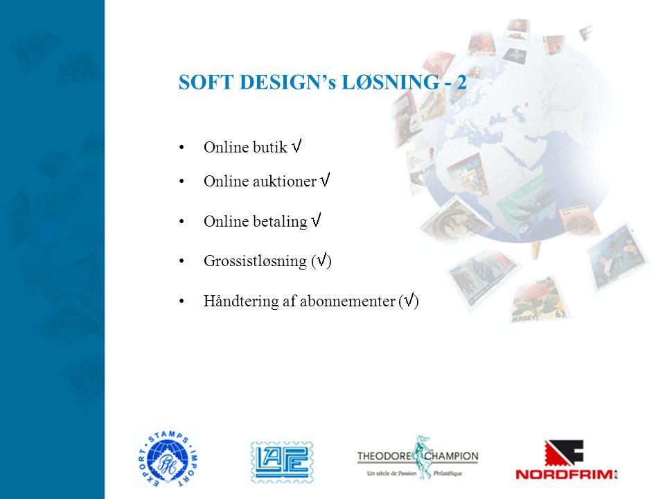 SOFT DESIGN's LØSNING - 2