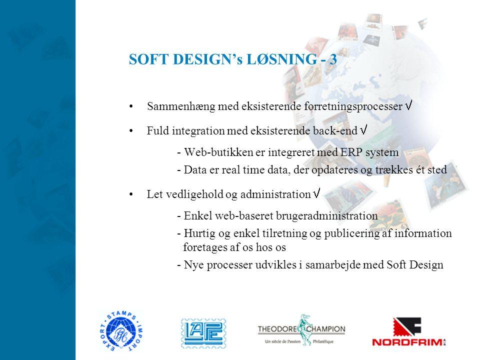 SOFT DESIGN's LØSNING - 3