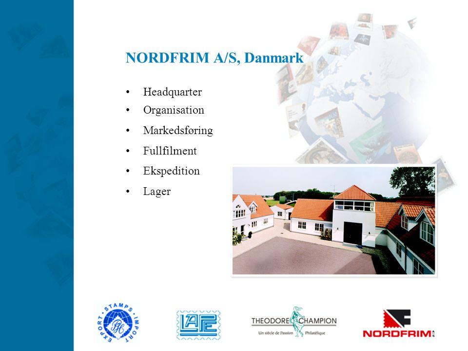 NORDFRIM A/S, Danmark Headquarter Organisation Markedsføring