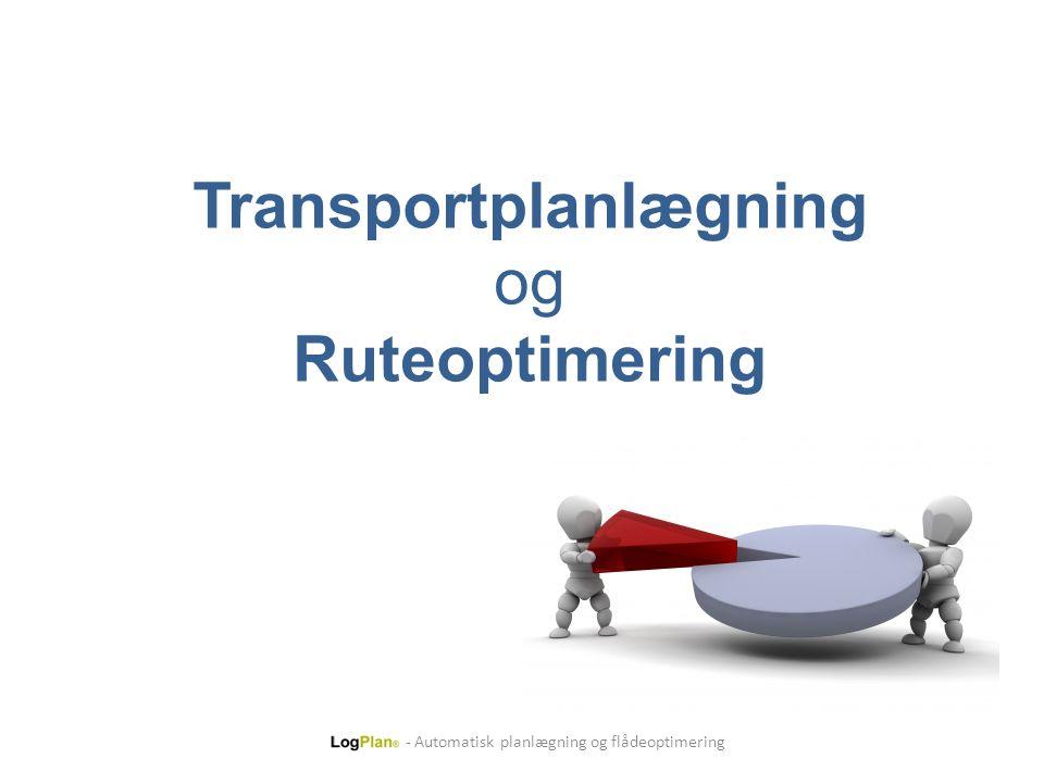 Transportplanlægning og Ruteoptimering